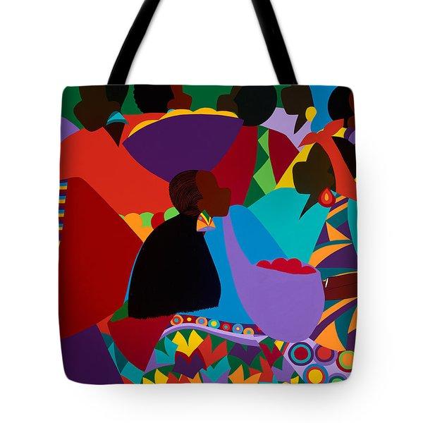Masekelas Marketplace Congo Tote Bag