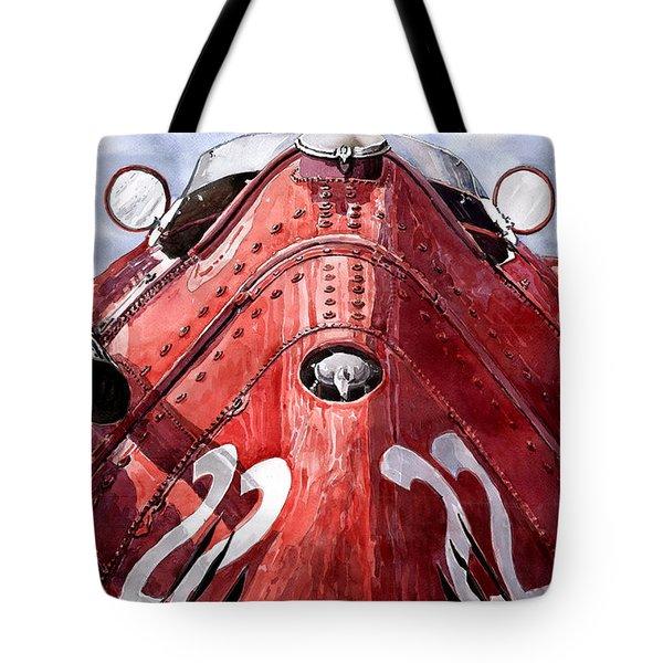 Maserati 250f Alien Tote Bag