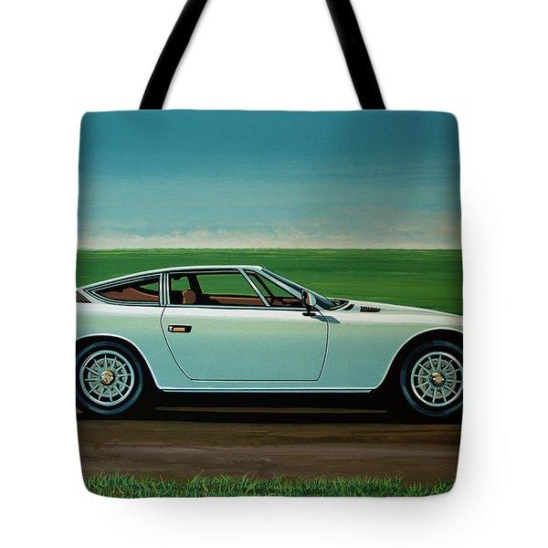 Maserati Khamsin 1974 Painting Tote Bag