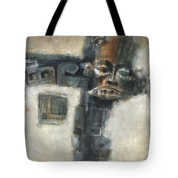 Frozen Tote Bag by Behzad Sohrabi