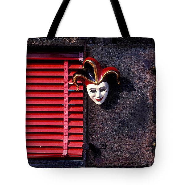 Mask By Window Tote Bag by Garry Gay