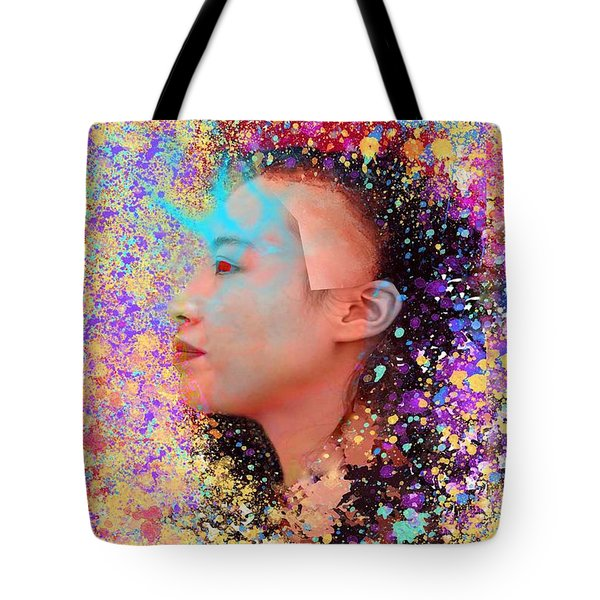 Mask Of Impressionism Tote Bag by Matthew Lacey