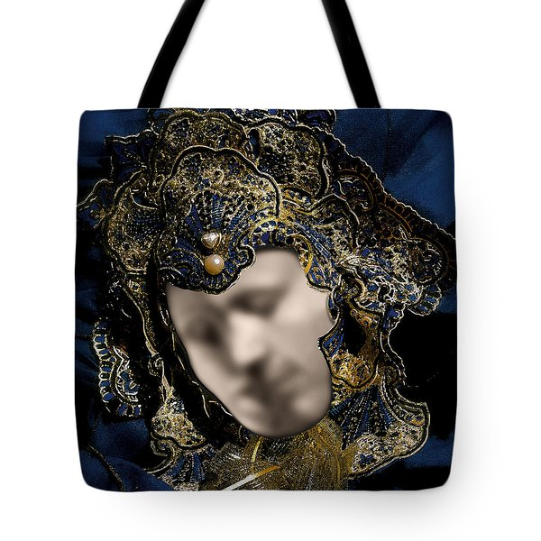 Mask Of Love Tote Bag