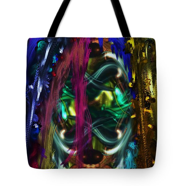 Mask Of The Spirit Guide Tote Bag