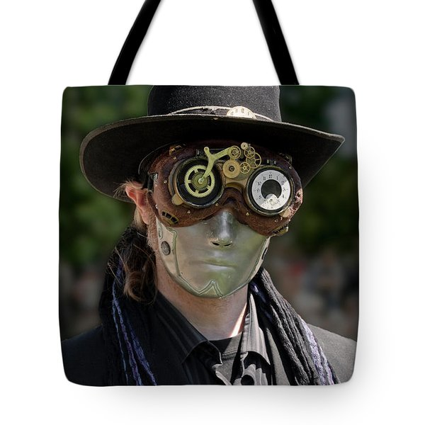 Masked Man - Steampunk Tote Bag