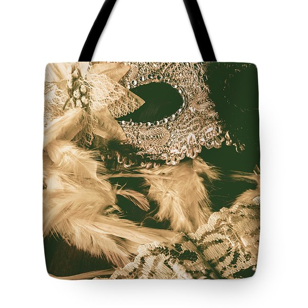 Masking A Playwright Tote Bag