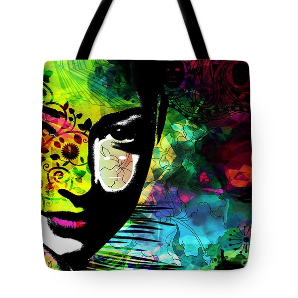 Masking Ego Tote Bag by Ramneek Narang