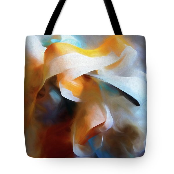 Masking Tape And Paint Composition Tote Bag