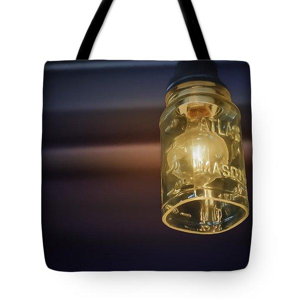 Mason Jar Light Tote Bag