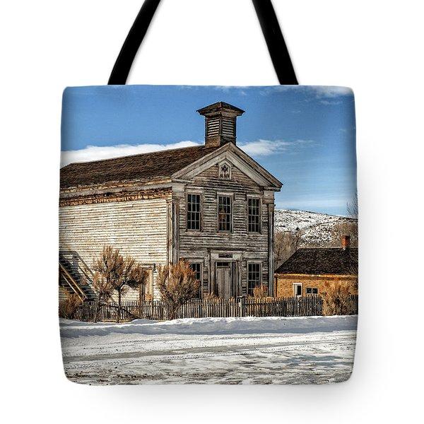 Masonic Lodge School Tote Bag