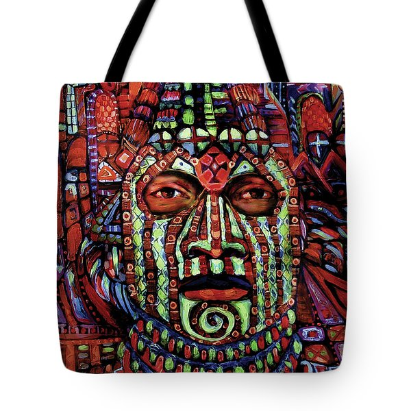 Masque Number 3 Tote Bag