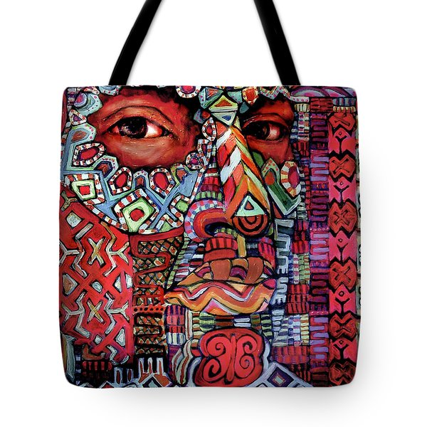 Masque Number 4 Tote Bag