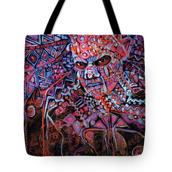 Masque Number 5 Tote Bag