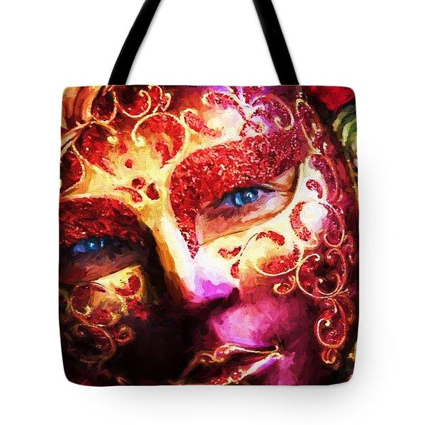 Masquerade 2 Tote Bag