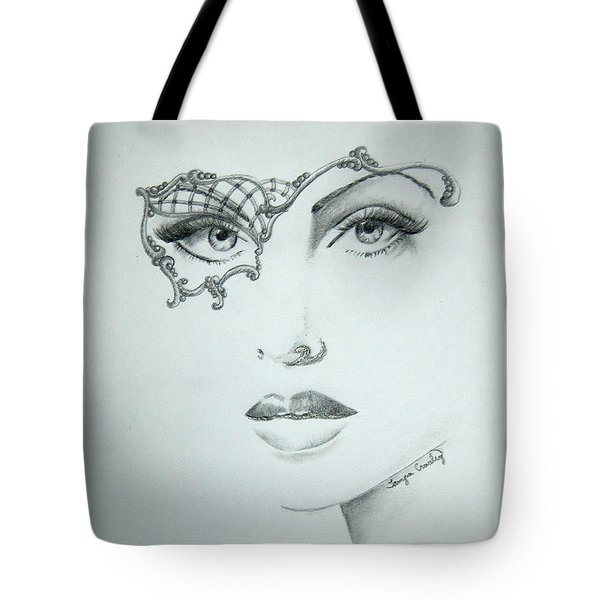 Masquerade Ball Tote Bag