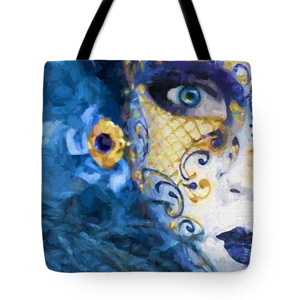 Masquerade I Tote Bag