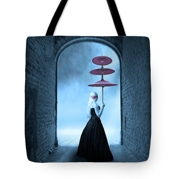 Tote Bag featuring the photograph Masquerade by Juli Scalzi
