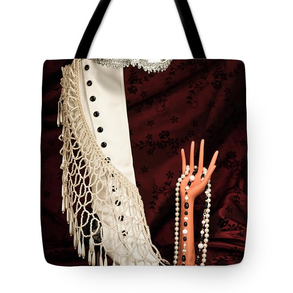 Masquerade Tote Bag by Tom Mc Nemar