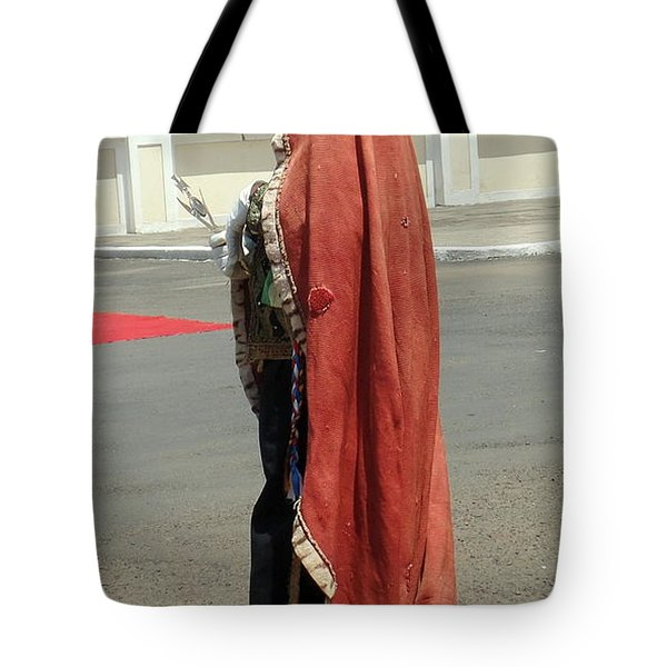 Masquerader Of Sao Tome Tote Bag
