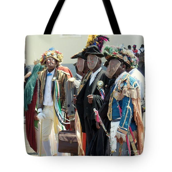 Masqueraders Of Sao Tome Tote Bag