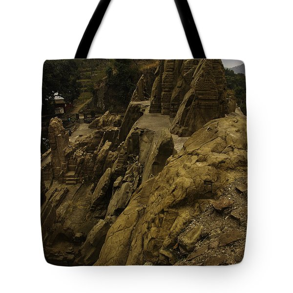 Masroor Temple Tote Bag by Rajiv Chopra