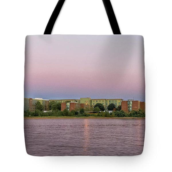 Massachusetts Maritime Academy At Sunset Tote Bag