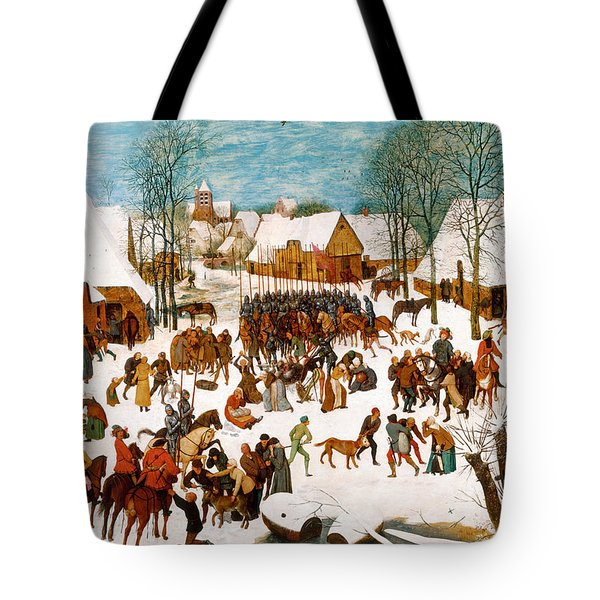 Massacre Of The Innocents Tote Bag