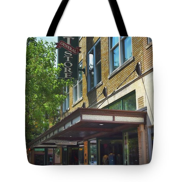 Tote Bag featuring the photograph Mast General by Skip Willits