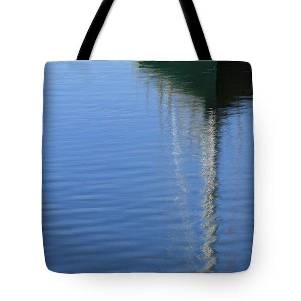Mast Reflections Tote Bag by Karol Livote