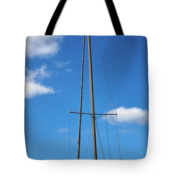 Mast Tote Bag by Steve Gravano