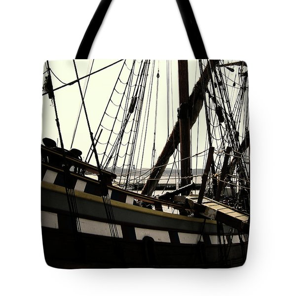 Master And Commander V2 Tote Bag by Douglas Barnard