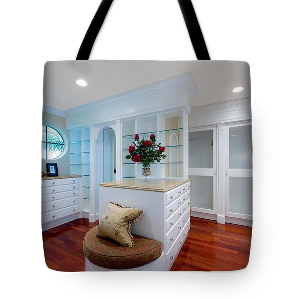 Master Closet Tote Bag