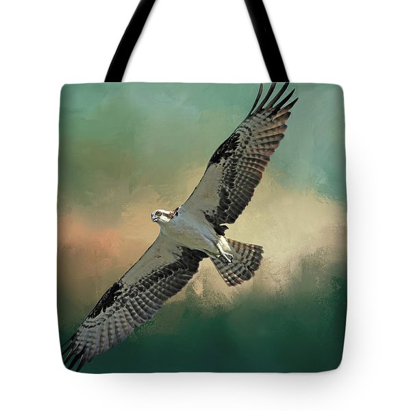 Tote Bag featuring the photograph Master Fisher by Donna Kennedy