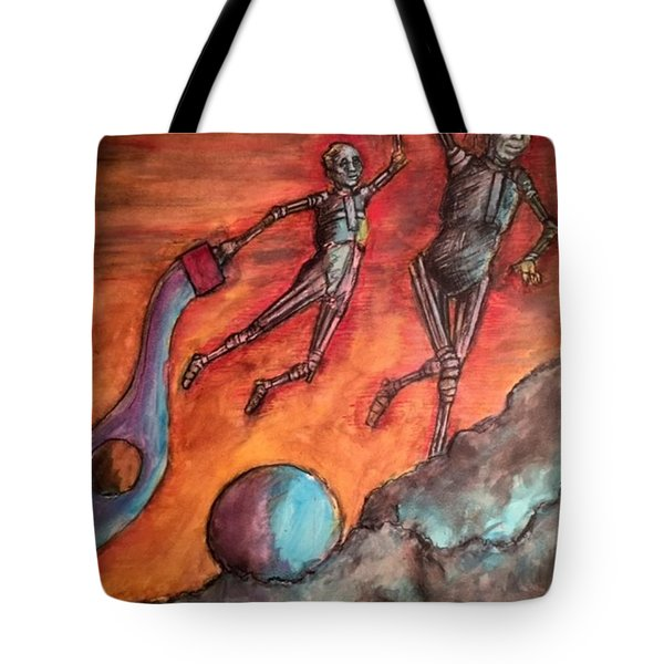 Master Minds Of Mars, The Voices Of Time Tote Bag
