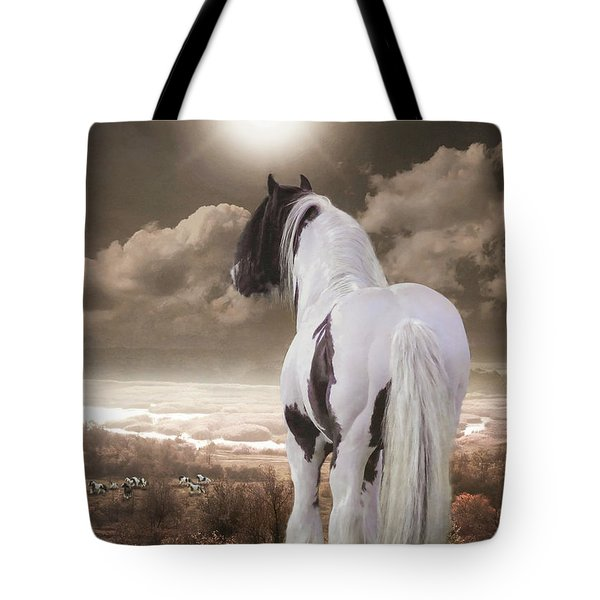 Master Of His Kingdom Tote Bag