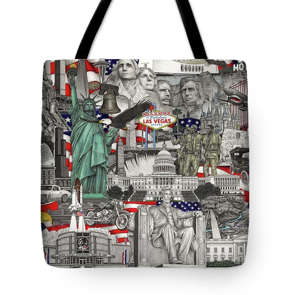 Masterpiece America Tote Bag