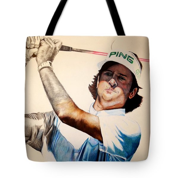 Masters Champ Tote Bag by Jake Stapleton