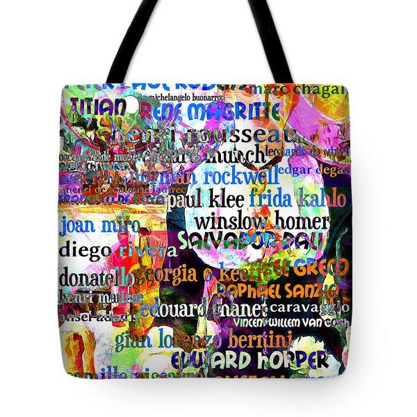 Masters Of Art A Bar At The Den Folies Bergere 20160306 Tote Bag