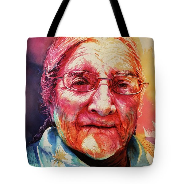 Tote Bag featuring the painting Windows To The Soul by J- J- Espinoza