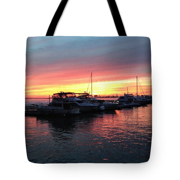 Masts And Steeples Tote Bag