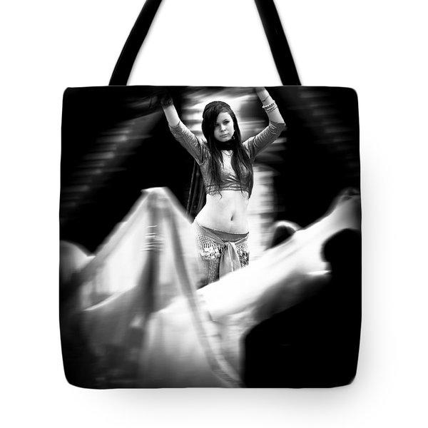 Mata Hari Tote Bag