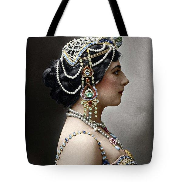 Tote Bag featuring the photograph Mata Hari by Granger