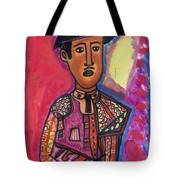Tote Bag featuring the painting Matador Seville by Don Koester