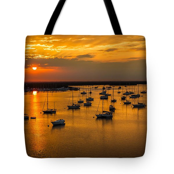 Tote Bag featuring the photograph Matanzas Harbor by Ron Pate