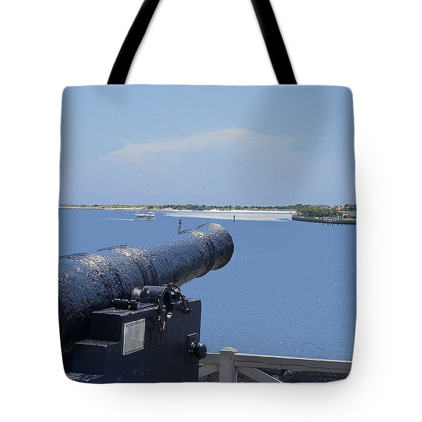 Matanzas Inlet Tote Bag by Kenneth Albin