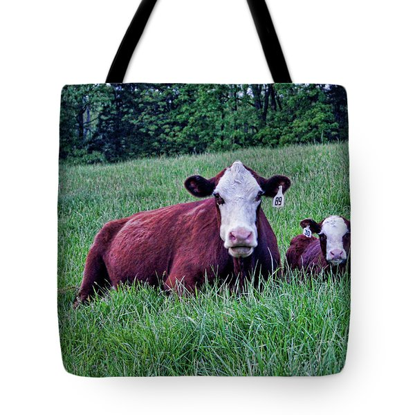 Tote Bag featuring the photograph Matched Set by Cricket Hackmann