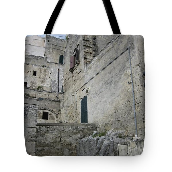 Matera Houses Tote Bag