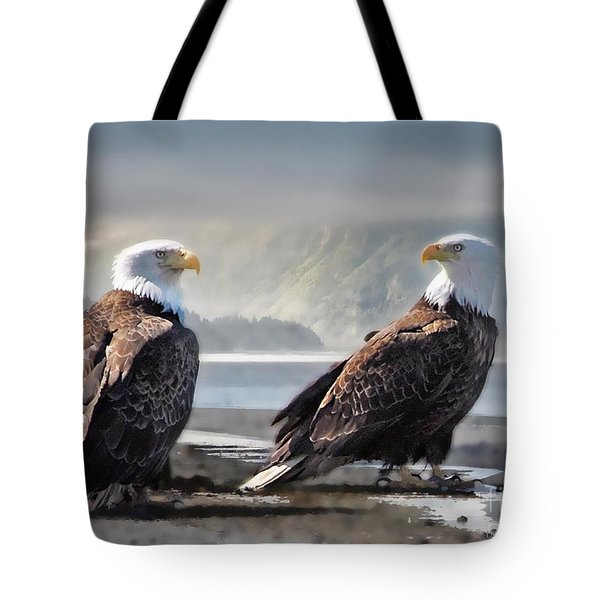 Mates For Life Tote Bag by Dyle   Warren