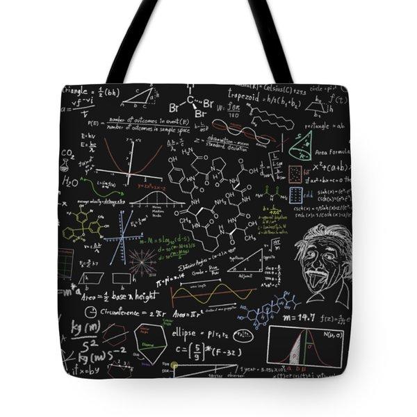 Maths Formula Tote Bag