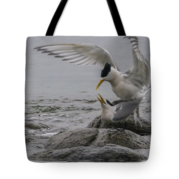 Tote Bag featuring the photograph Mating Pair 2 by Werner Padarin